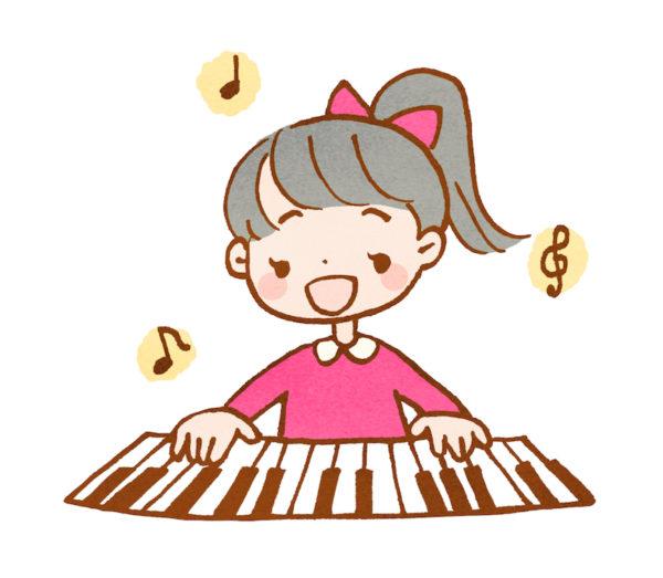 ピアノの女の子